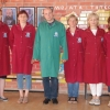Polscy nauczyciele w macedońskich mundurkach