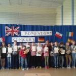 I powiatowy Konkurs Lingwistyczny CISIE 2016