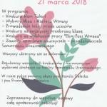 Dzień wiosny plakat